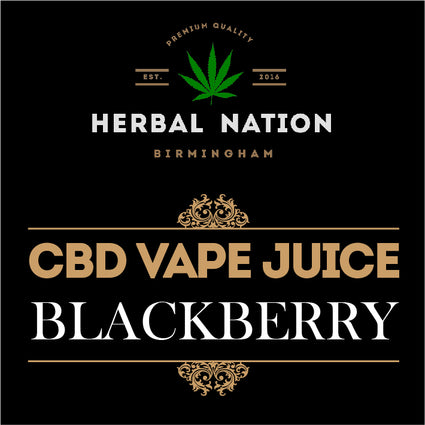 CBD oil - Blackberry