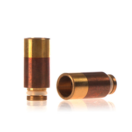 510 Copper + Brass drip tip