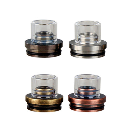 Chuff enuff drip tip (Stainless Steel)
