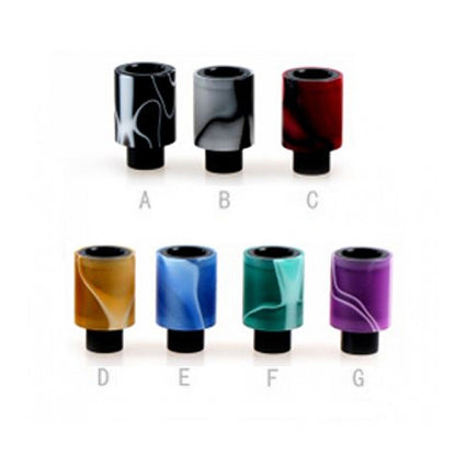 510 Acrylic + Derlin drip tips