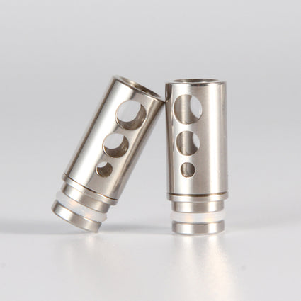 510 Hollow drip tip (Stainless Steel)