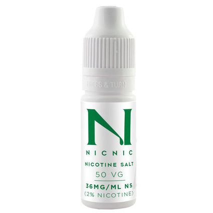 NICOTINE SALT SHOT 20mg-ml BY NIC NIC