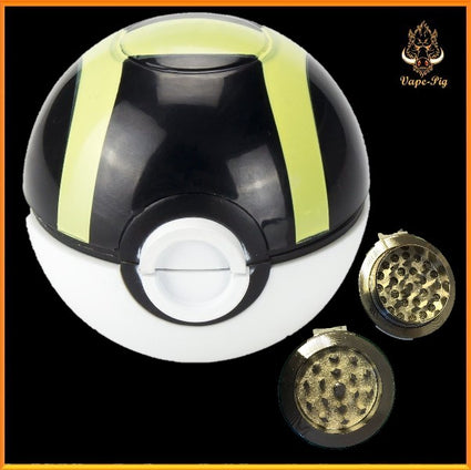 POKEMON GRINDER BLACK-GREEN