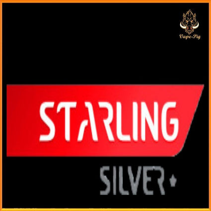 100ML Starling Silver (0mg) - SPECIAL PRICE
