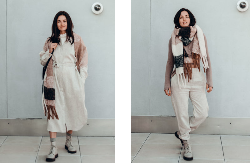 how to wear linen in the fall 2