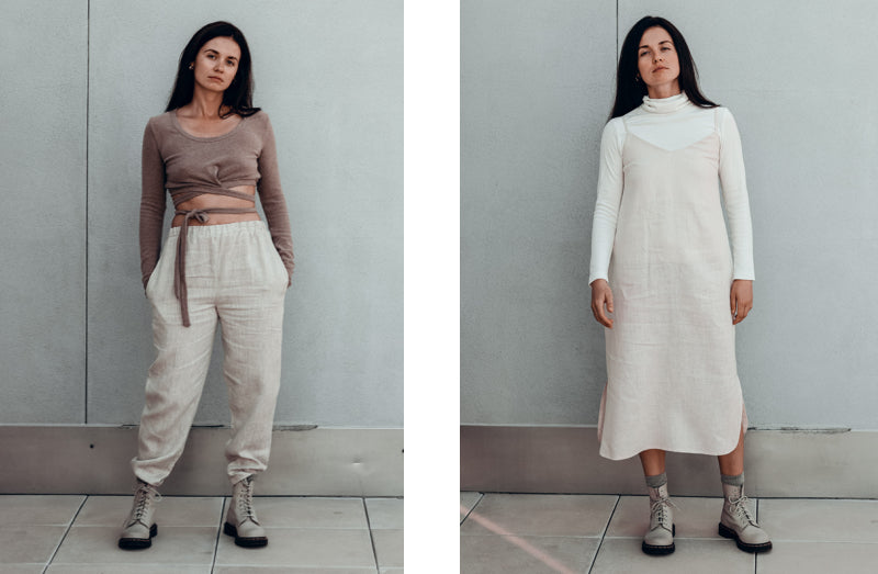 How to wear linen in the fall
