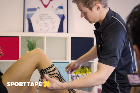 SPORTTAPE Academy - Talk to your therapist about taping