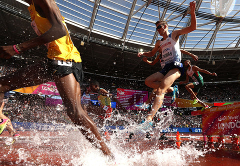 Ieuan steeplechase at the World Championships London 2017