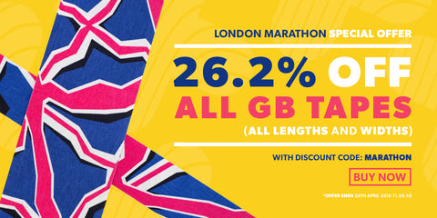 SPORTTAPE April Offer - 26.2% OFF SPORTTAPE GB KINESIOLOGY TAPES