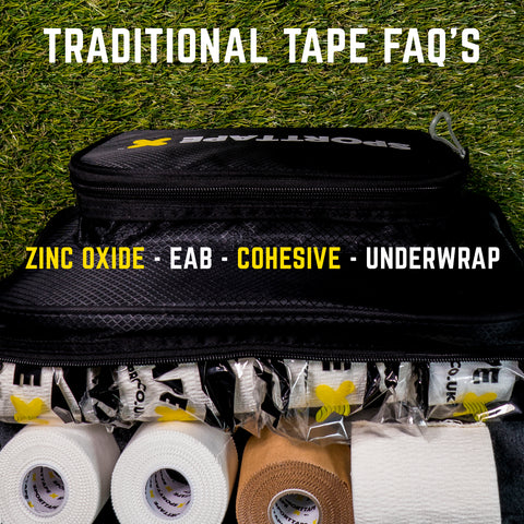 Traditional Tapes - Zinc Oxide, EAB, Cohesive FAQ's