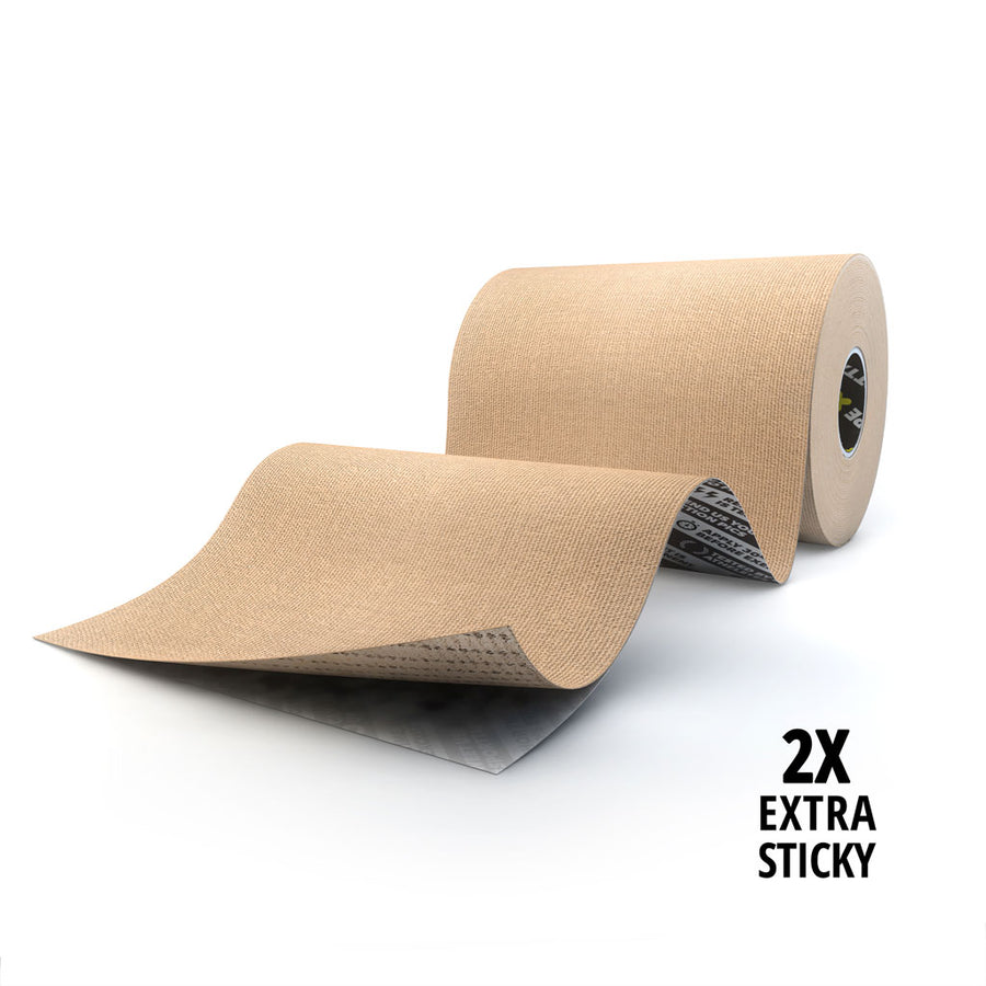 EXTRA STICKY KINESIOLOGY TAPE - 10cmx5m (EXTRA WIDE ROLL)