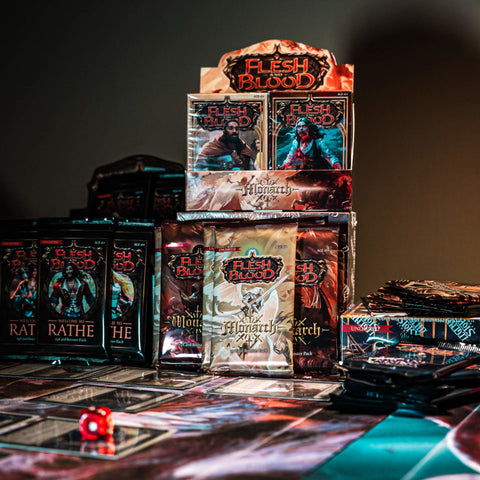 booster boxes and blitz decks flesh and blood fab first edition
