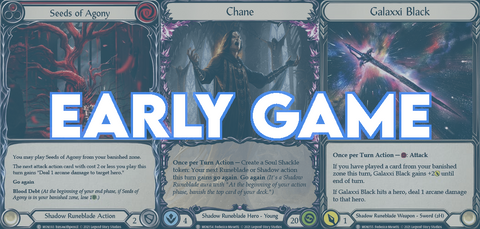 early game chane how to play guide strategy tutorial flesh and blood blitz cc
