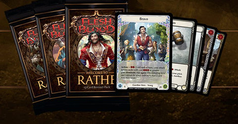 example of draft and sealed flesh and blood deckbuilding gameplay