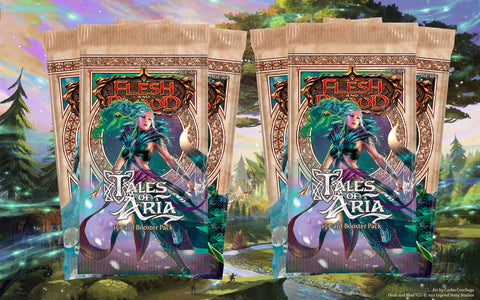 flesh and blood tales of aria ele first edition booster draft sealed guide to limited play