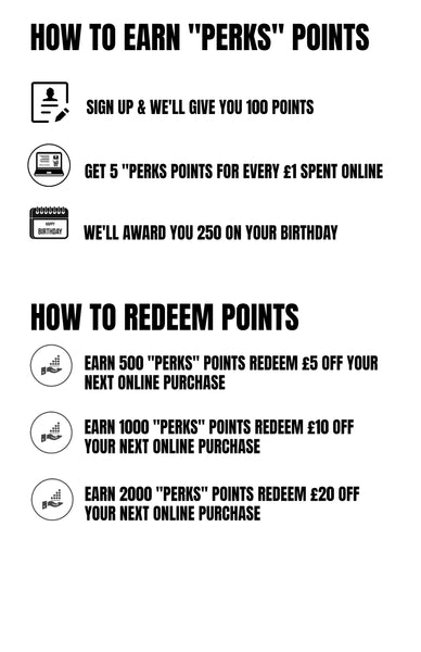 How to Earn Perks Points