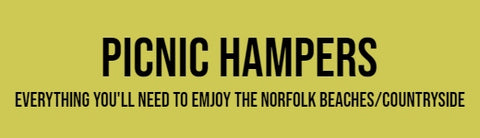 Picnic Hampers - the perfect way to enjoy Norfolk beaches while on holiday