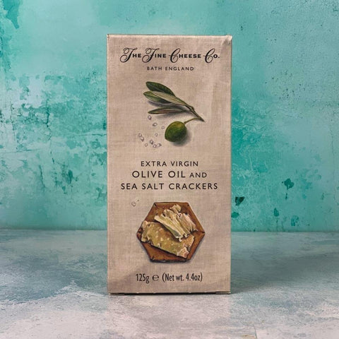 Olive Oil and Sea Salt Crackers