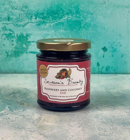 Raspberry & Coconut Jam