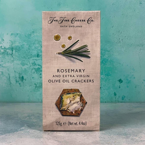 Rosemary and Olive Oil Crackers 125g