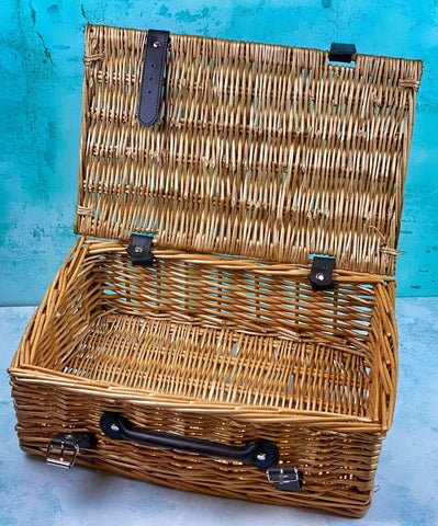 "14"" Wicker Hamper"