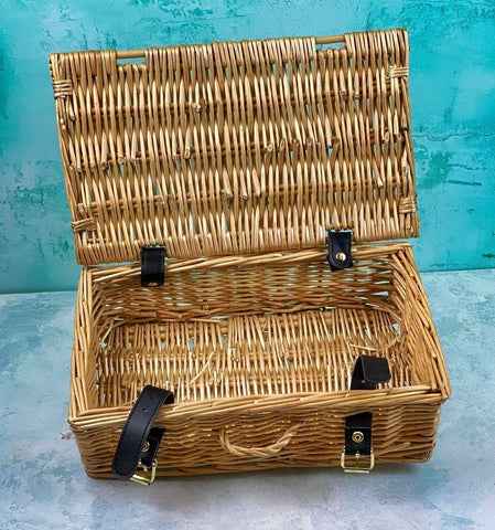 "12"" Wicker Hampers"