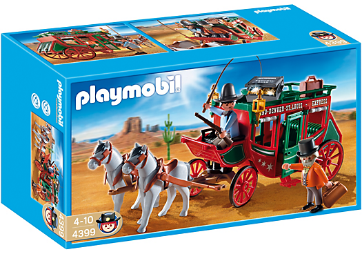 Playmobil diligencia del oeste carriage western - Playmobil kutsche ...