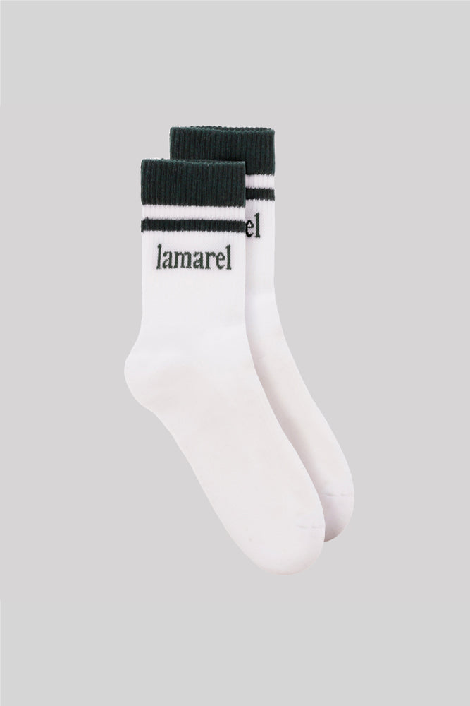 LAMAREL STRIPED SOCKS