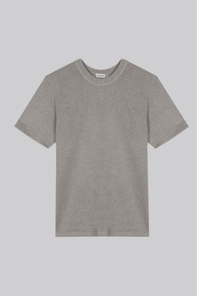 GRAY T-SHIRT OVERSIZED