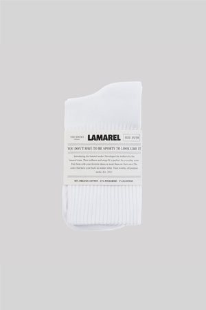 LAMAREL WHITE SOCKS