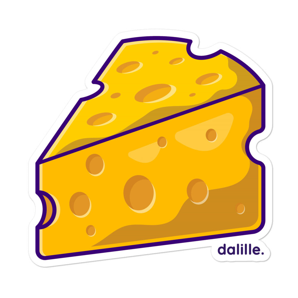 Cheesy Cheese Sticker