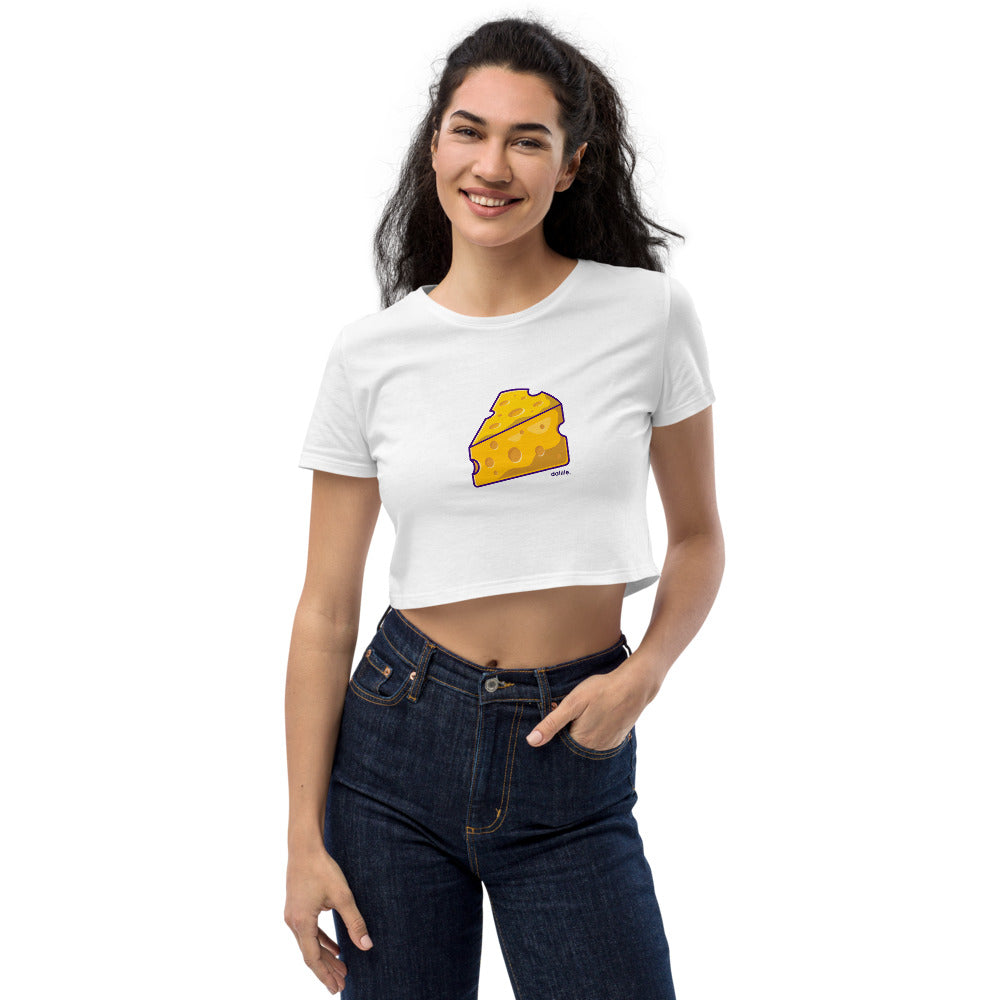 Cheesy Cheese Crop Top
