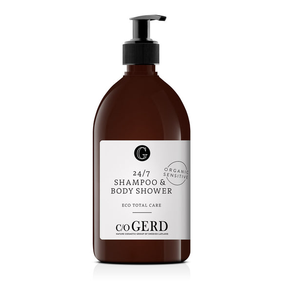 24/7 Shampoo & Body shower 500ml - c/o GERD