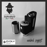 "WARLOCK PROJECT ""ELITE EDITION"" EVOLV DNA60 - BLACK (non contiene nicotina)"