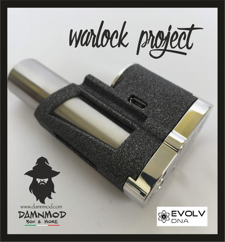 "WARLOCK PROJECT ""ELITE EDITION"" EVOLV DNA60 - ALUMIDE (non contiene nicotina)"