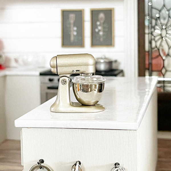 Satin Gold Stand Mixer