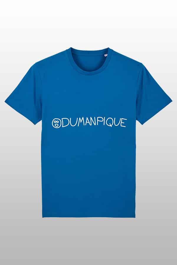 Odumanpique Shirt royal blue