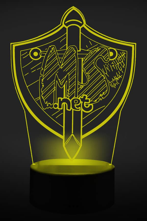 MineSucht 3D LED Lampe