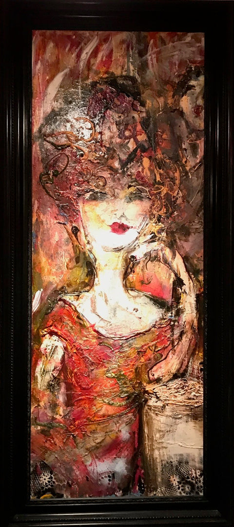 Guy Olivier - Lady in red