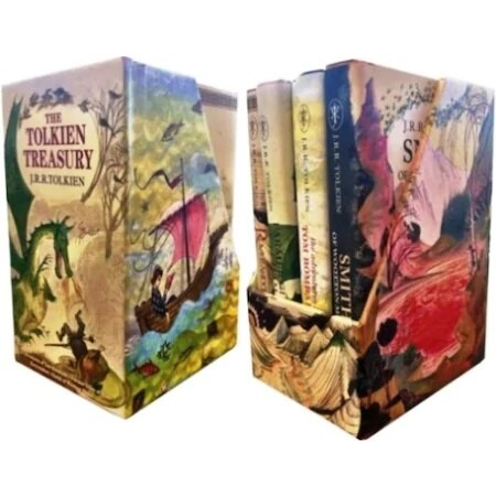 The Tolkien Treasury - Set English Book-  English Book - Grammar - Foreign Language - Speaking English - English Development
