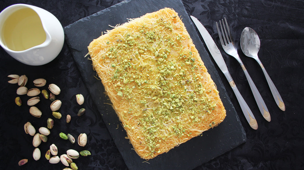 Shredded Kanafeh