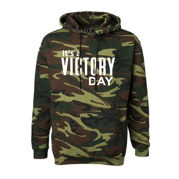 Men's Camouflage Victory Day Hoodie