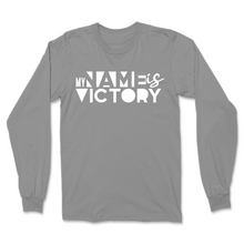 Load image into Gallery viewer, My Name Is Victory Men's Long Sleeve Shirt