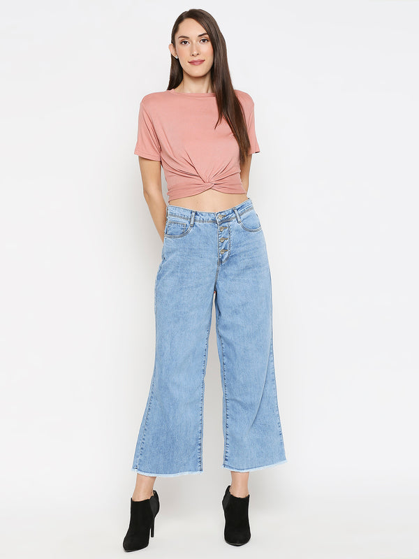 K5031 High-Rise Wide Leg Jeans (6549657026735)