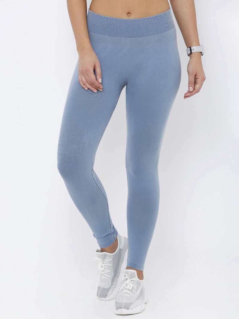 High-Rise Skinny Fit Denim Athleisure (6251620892847)