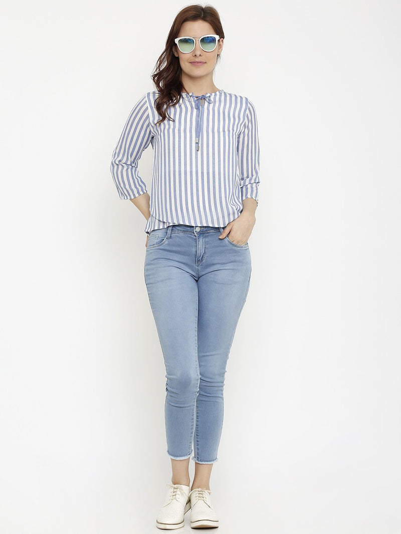 K4050 Mid-Rise Skinny Crop Length Jeans (6251605295279)