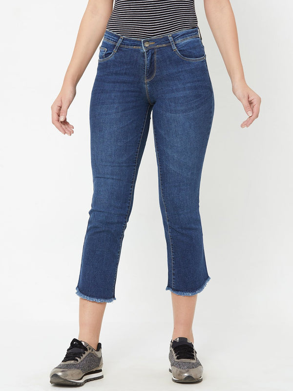K4095 Midrise Cropped Flared Jeans (6289945723055)