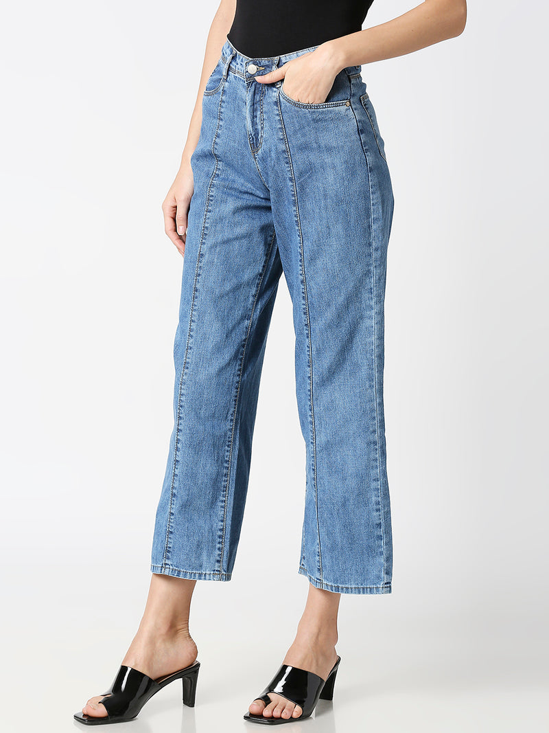 K5031 High-Rise Wide Leg Jeans (6316550881455)