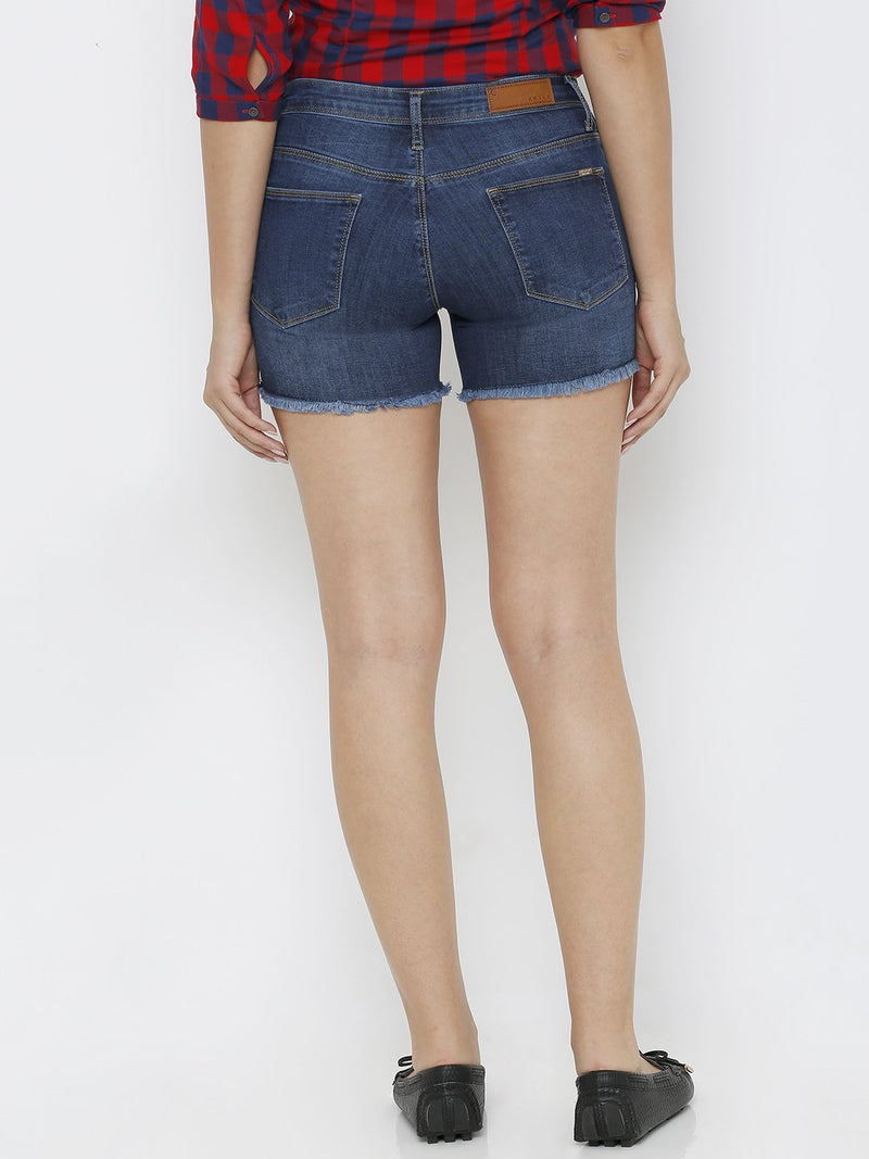 Women K4041 Highrise Shorts (6251622170799)
