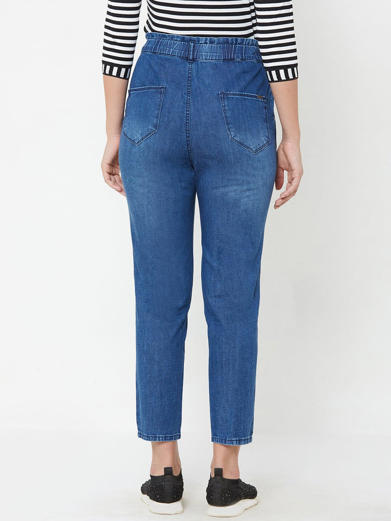 High Rise Baggy Fit Jeans (6289945985199)